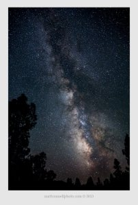The Milky Way, photographed from Waldo Mtn, S. Oregon by Matt Connell, mattconnellphoto.com © mattconnellphoto.com 2013