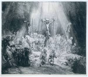 Rembrandt - Three Crosses
